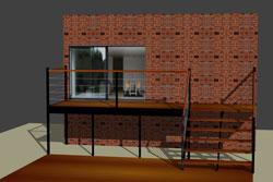 logicicel de conception escalier